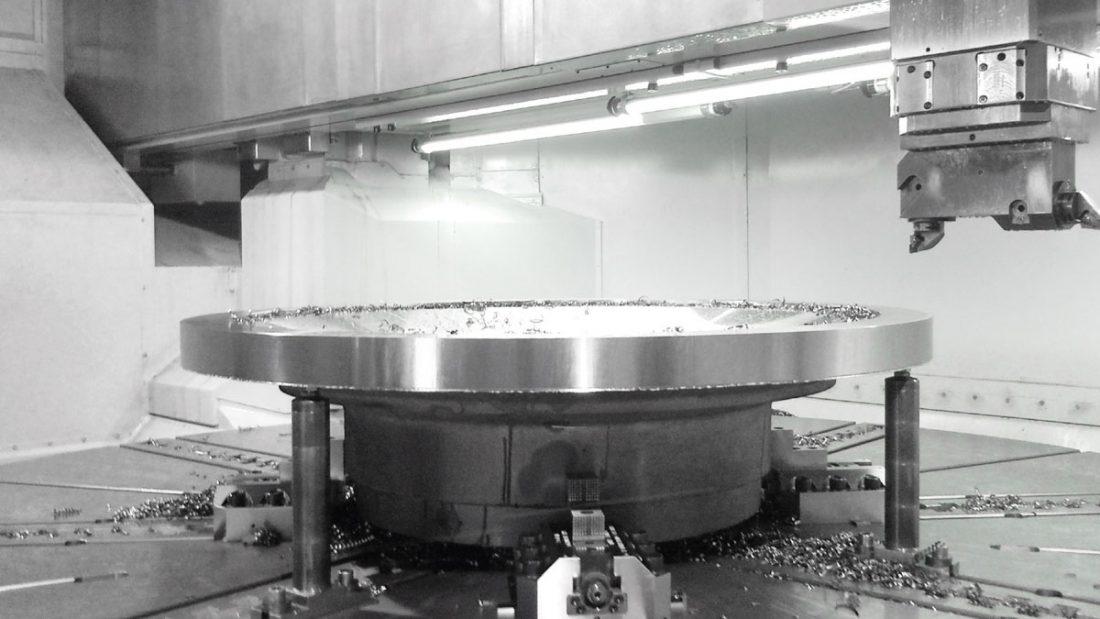 CNC vertical borer & coupling